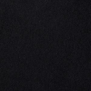 duvetyne fabric Black