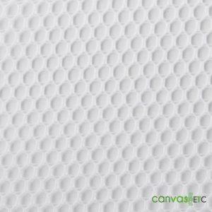 Poly Mesh Fabric White