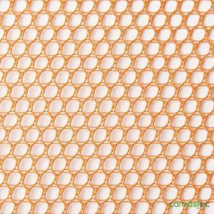 Hex Mesh Fabric Orange