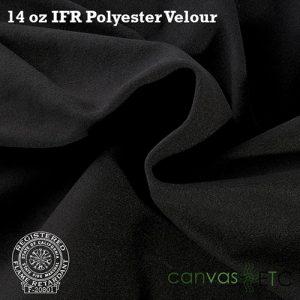 14 oz ifr velour black
