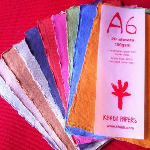 color paper sheets khadi