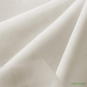 sheer voile fabric IVORY