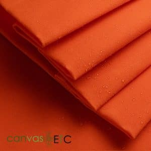 Waxed Canvas Orange Army Duck