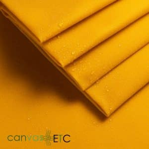 Waxed Canvas Yellow