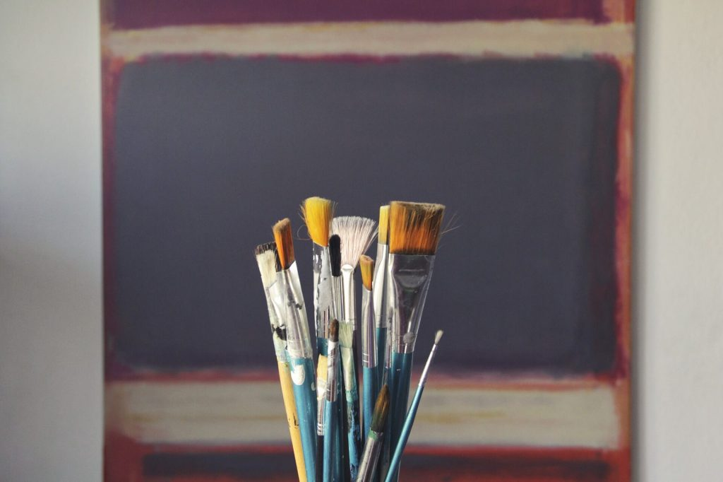 artist canvas rolls brushes