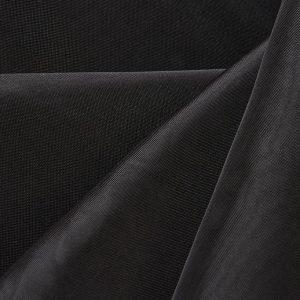 12'H Sheer Drape - Black