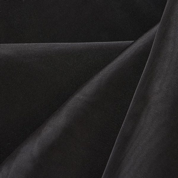 16'H Sheer Drape - Black