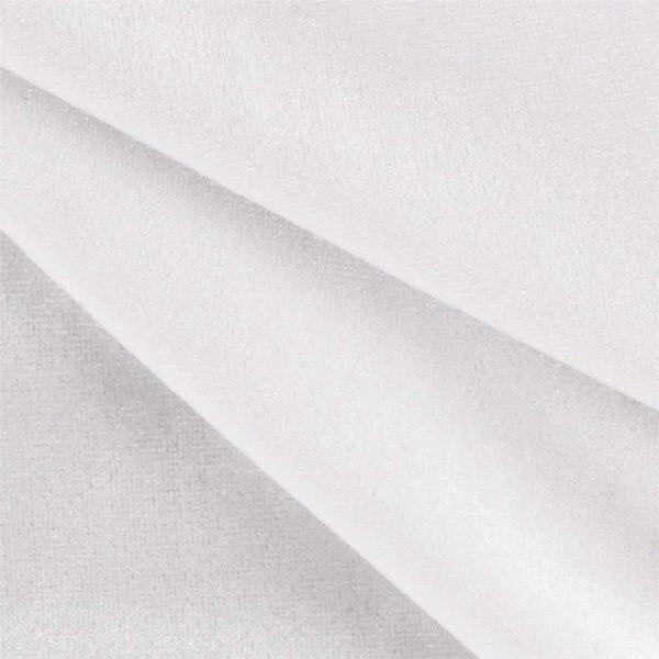 12'H Duvetyne Drape - White