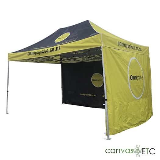 10x15 Pop Up Tent 2