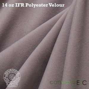 "IFR Velour 14 oz - 60"" | Gray"