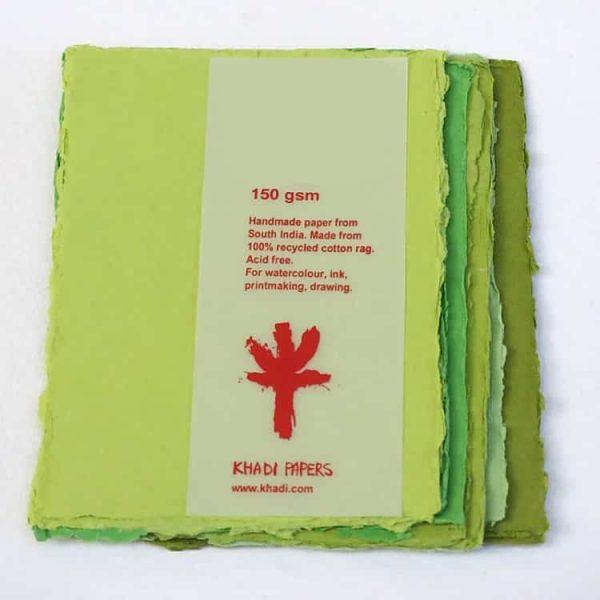 """Khadi Envelope Pack - C6GRY, 4.50"""" x 6.50"""" - 100 gsm"""