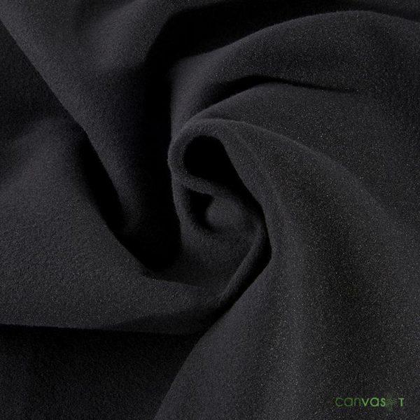12'H Velour Drape 22 oz - Black