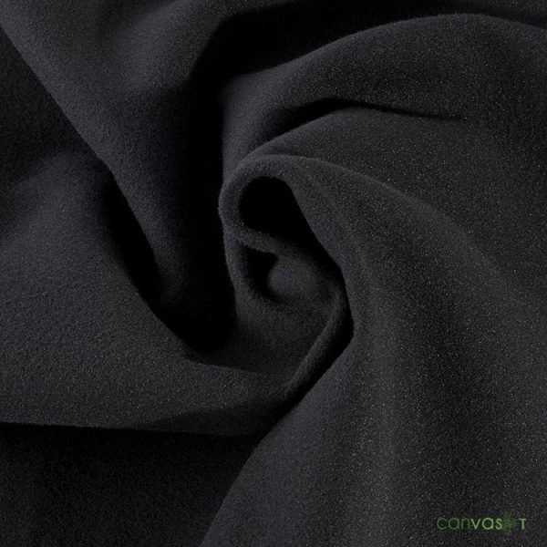 16'H Velour Drape 22 oz - Black