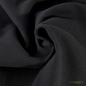 22'H Velour Drape 22 oz - Black