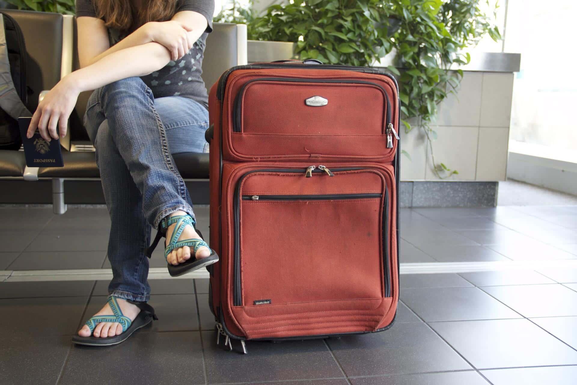 denier fabric luggage