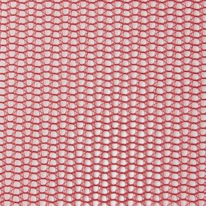 Hat Mesh Fabric Red