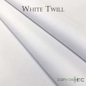 white twill