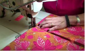 Creating the Pouf flap