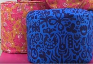 How to make Poufs