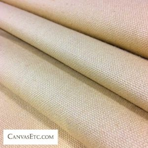 Desert Tan 10 ounce cotton duck fabric