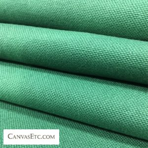 Hunter Green 10 ounce cotton duck fabric