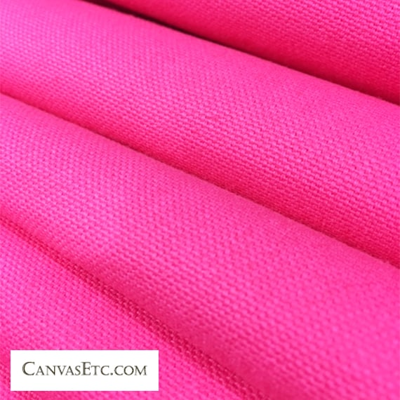 Orchid Pink 10 ounce cotton duck fabric