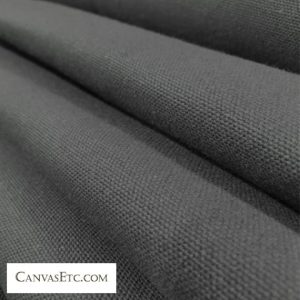 Smoke Grey 10 ounce cotton duck fabric