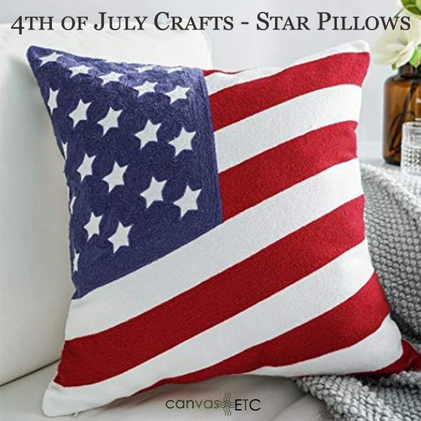 Pillow Cover*Stripes Cotton Canvas
