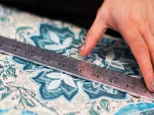 Measuring your outdoor seat cushions fabric
