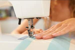 Sewing a seam allowance