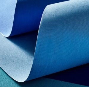 Recasens Sunbrella Type Fabric in Blue