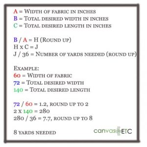 Yardage Required Equation