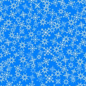 Christmas fabric snowflakes