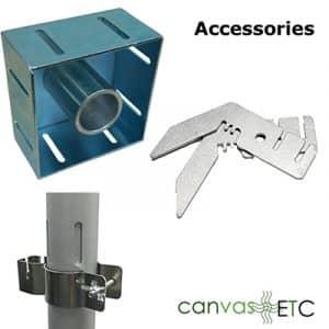 Pipe and Drape Hardware Accessories