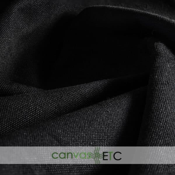 #8 Cotton Duck Dyed Black