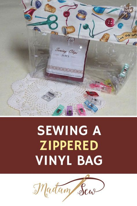 why you need vinyl accessory bag canvas etc